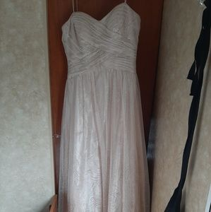 Formal Rose-gold Prom Dress